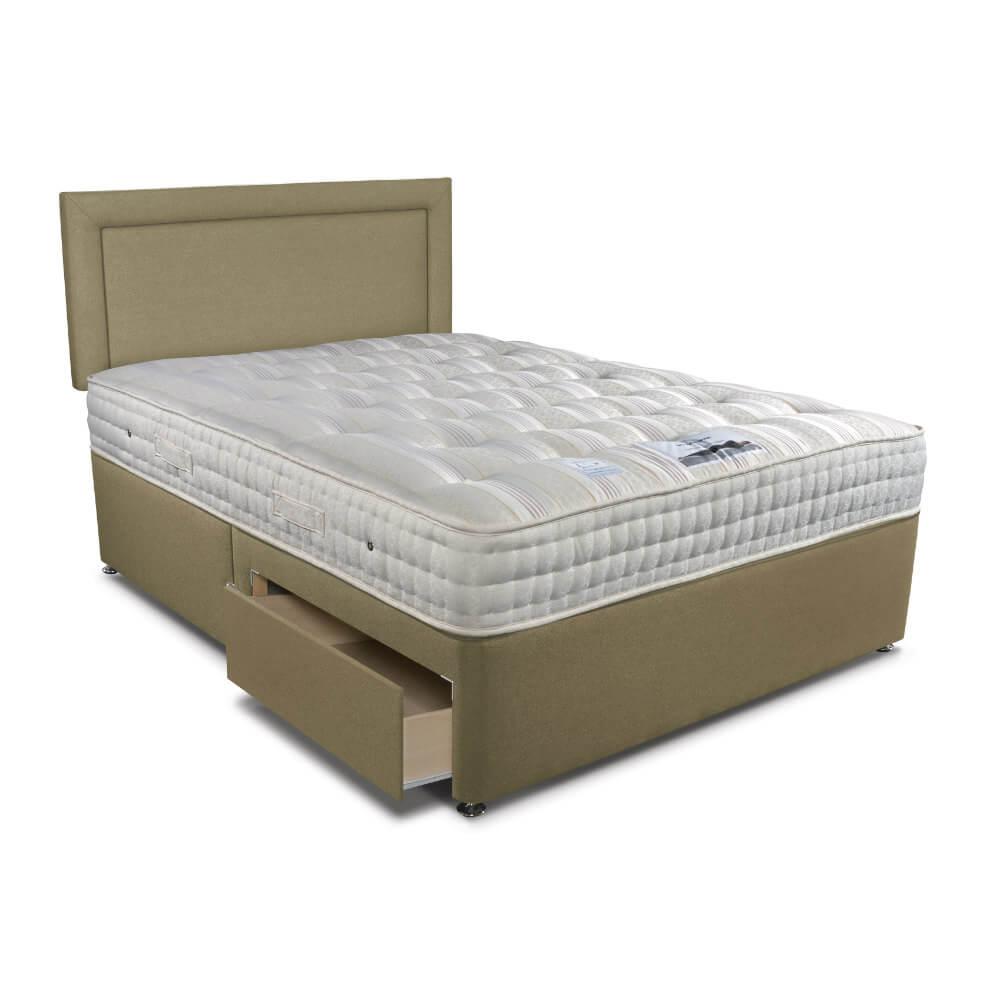 Double Sleepeezee New Backcare Luxury 1400 Divan Bed