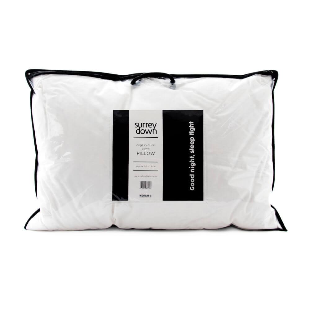 Surrey Down English Duck Down Pillows
