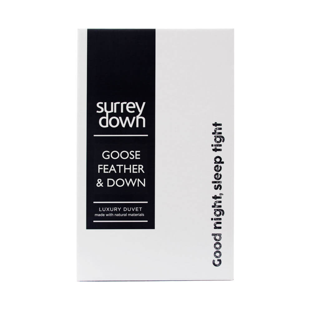 Surrey Down Goose Feather & Down Duvets Double