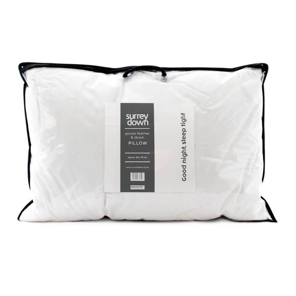 Surrey Down Goose Feather & Down Pillows