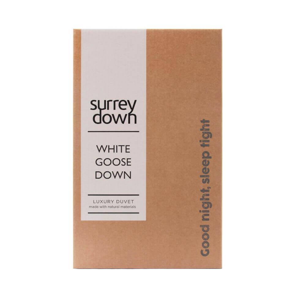 Surrey Down White Goose Down Duvets Double