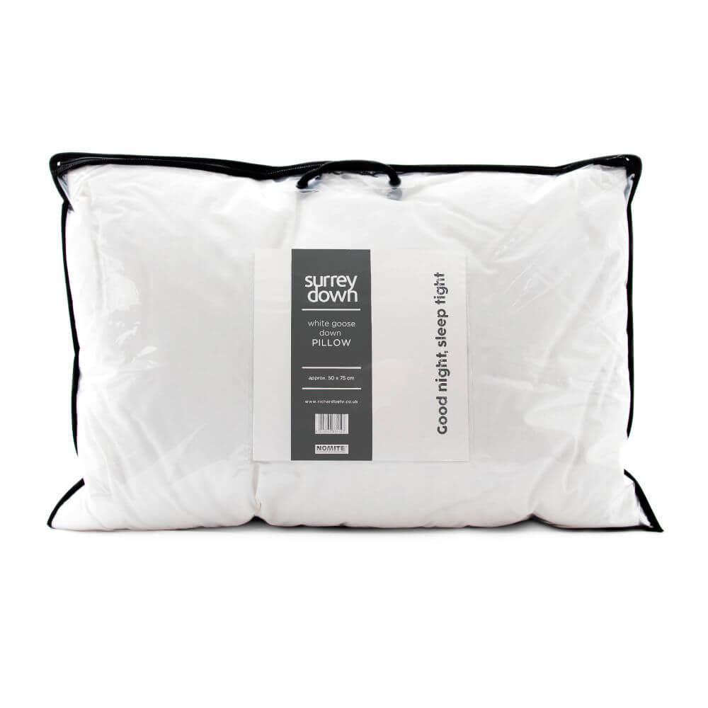Surrey Down White Goose Down Pillows