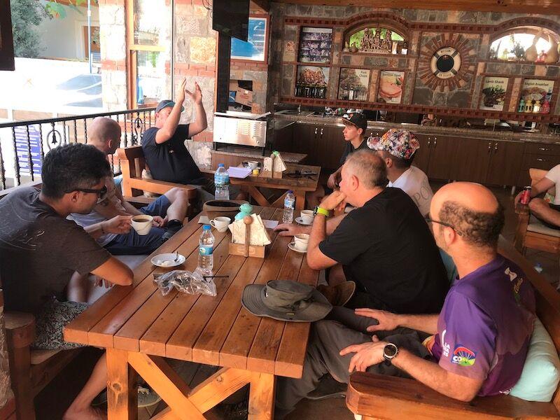 Pilotage briefing in Turkey