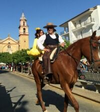 May festival in Algodonales