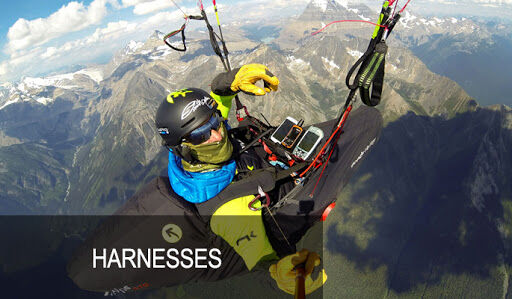 Harness for paragliders, Speed flying, hike and & Fly or Xc