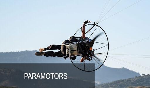 Paramotoring equipment