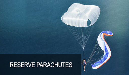 Parachutes fro sale, from Round, Square  to Rogallo