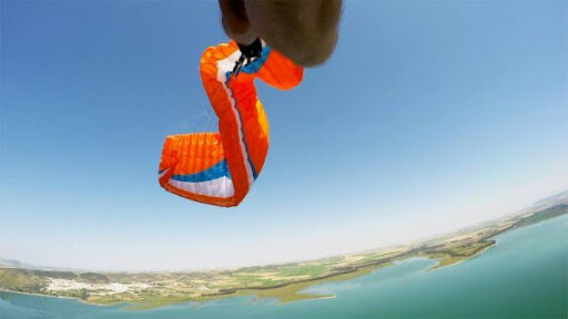 paragliding Summer has arrived in spain