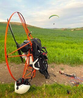 Paramotor xc flights