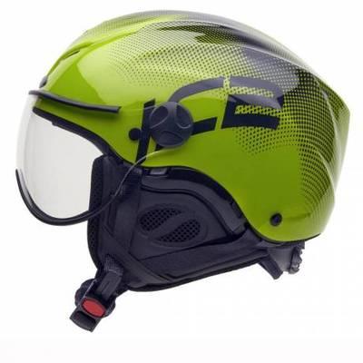 Open face helmet paragliding