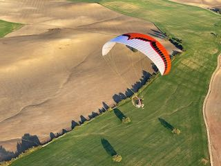 paramotor flying holiday