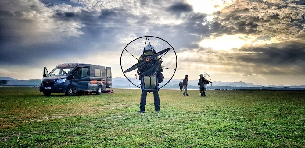 Paramotor tuition abroad