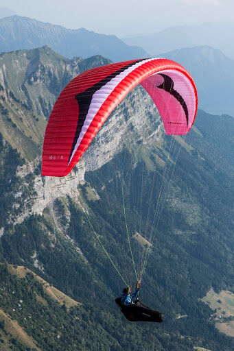 Rogallo directional reserve