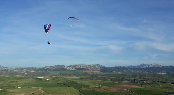 club pilot Soaring & top landing practical