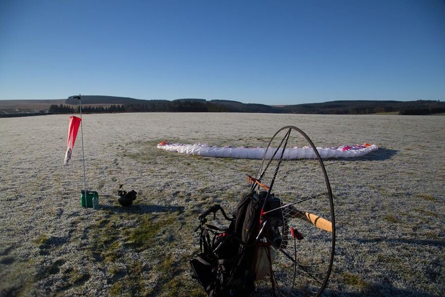 Stunning Paramotor training video By BHPA school in Spain