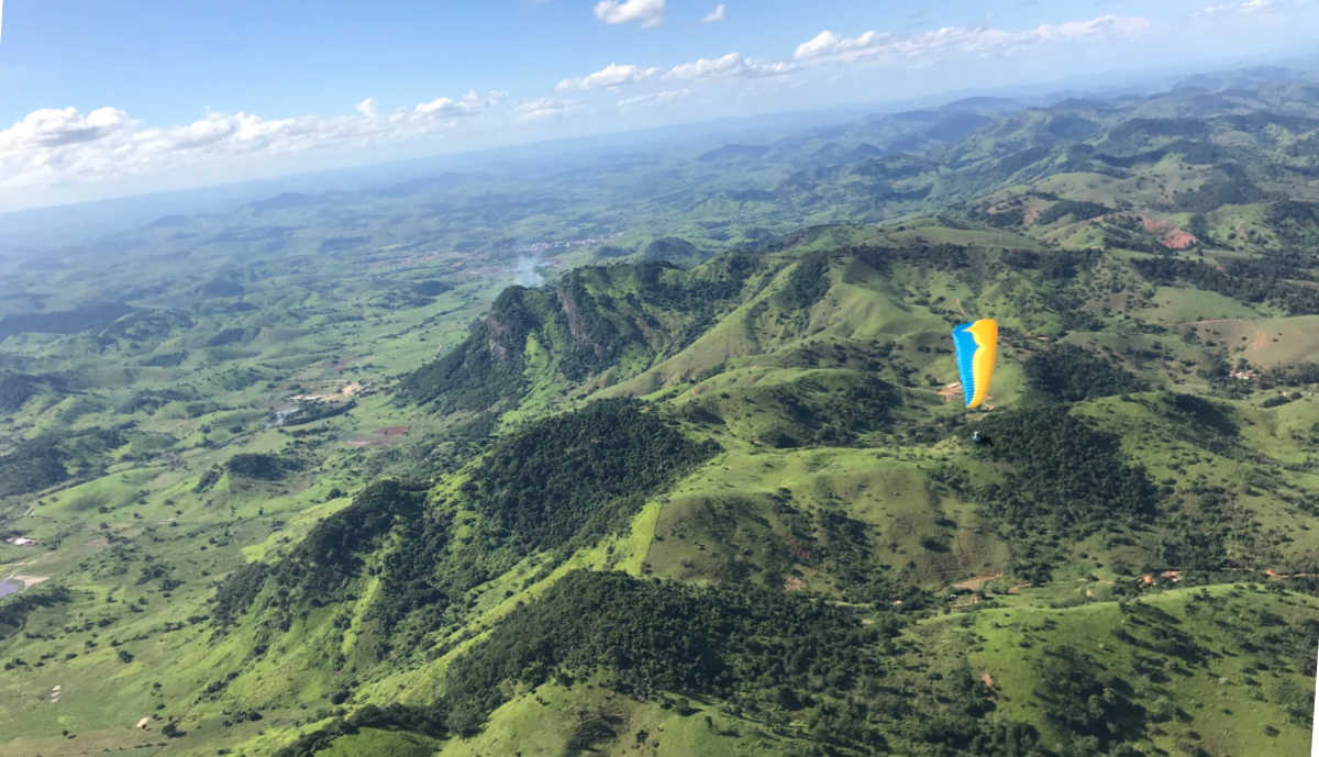 Outstanding paragliding tour in Brazil for two weeks over Winter