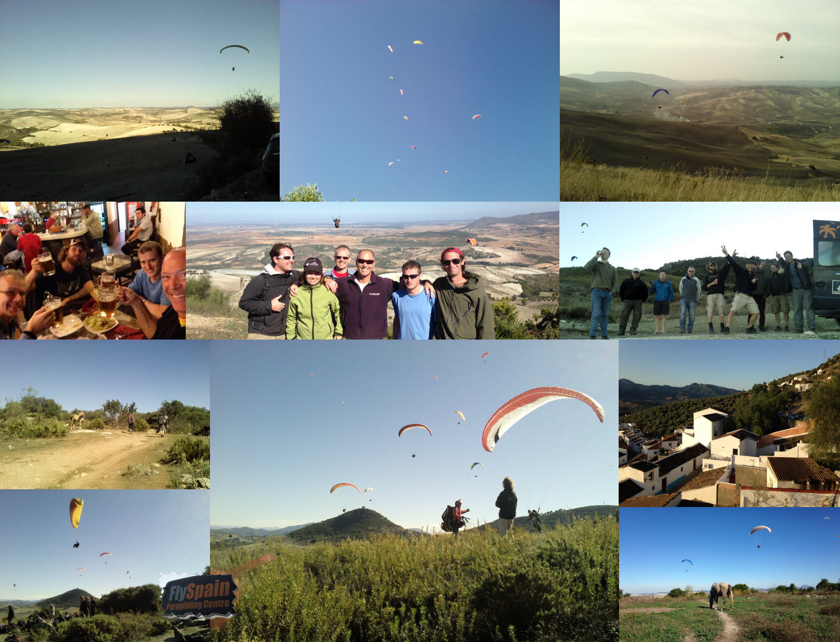 December Beginners paragliding course for 2013 is mega popular