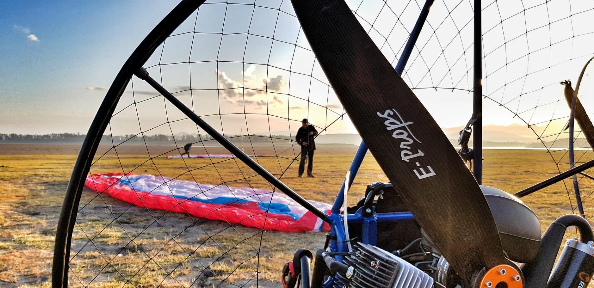 Paramotor holidays around the Spanish foothills