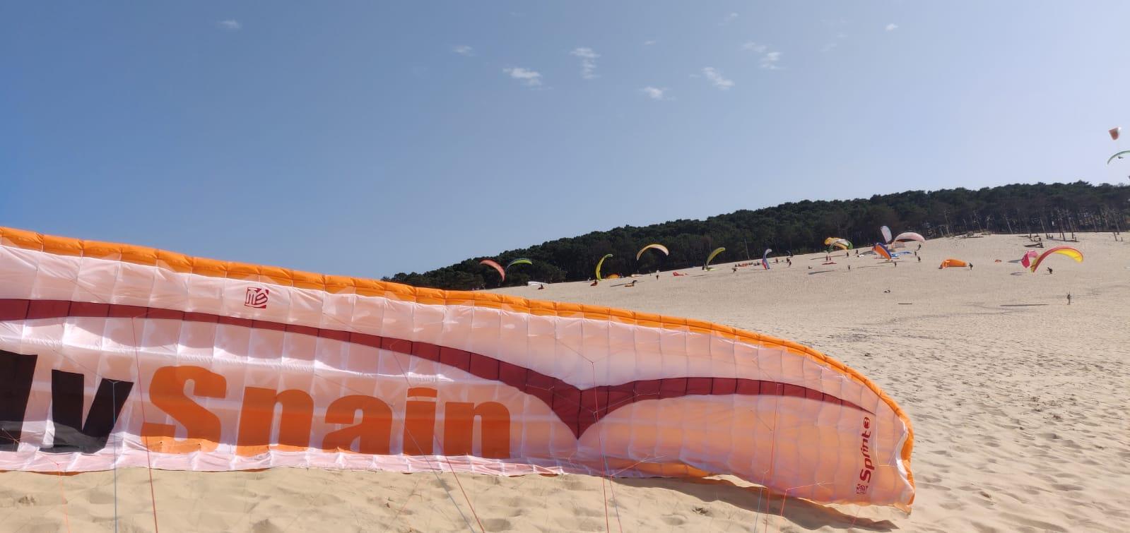 FlySpain at Dune De Pyla, France