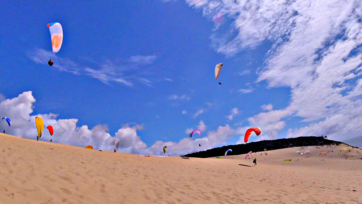 Dune de Pyla success!