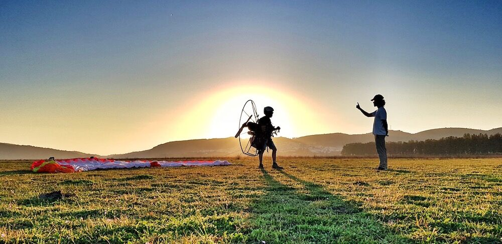 Amazing  Paramotor Tuition a huge success this February