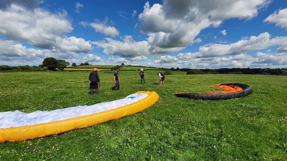 Paramotor tuition in the UK this summer