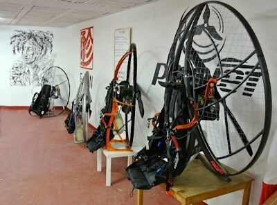 All your Paramotor equipement waiting for you