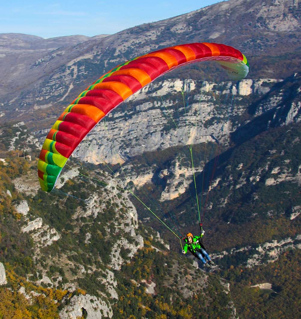 New paraglider wing package by Bruce Goldsmith Designs