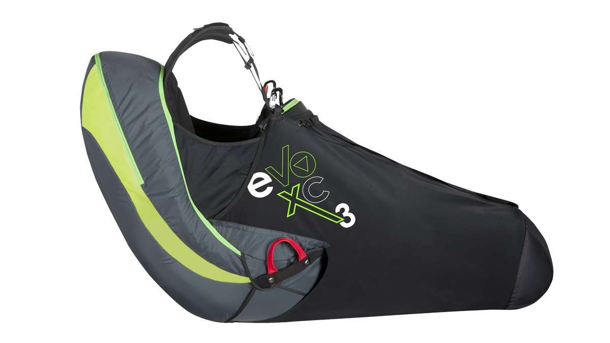 Supair EVO XC3 available from FlySpain shop and paragliding centre