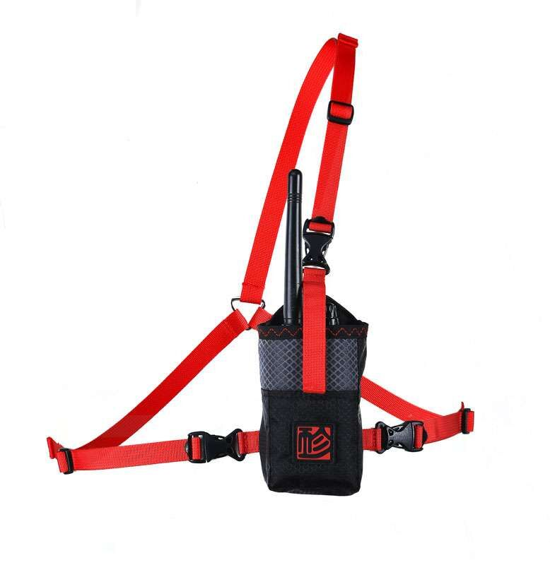 FLY GIN 2m Radio Case Red