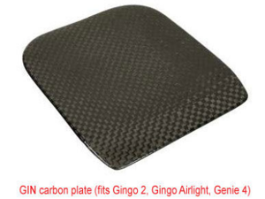Gin Carbon Fibre Seat Plate