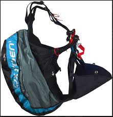 Ozone Oxygen 1 harness fro hike and fly available at FlySpain
