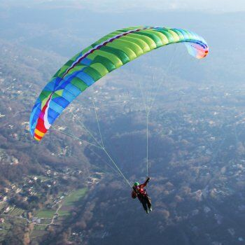 Latest BGD Epic glider now available at FlySpain paragliding International
