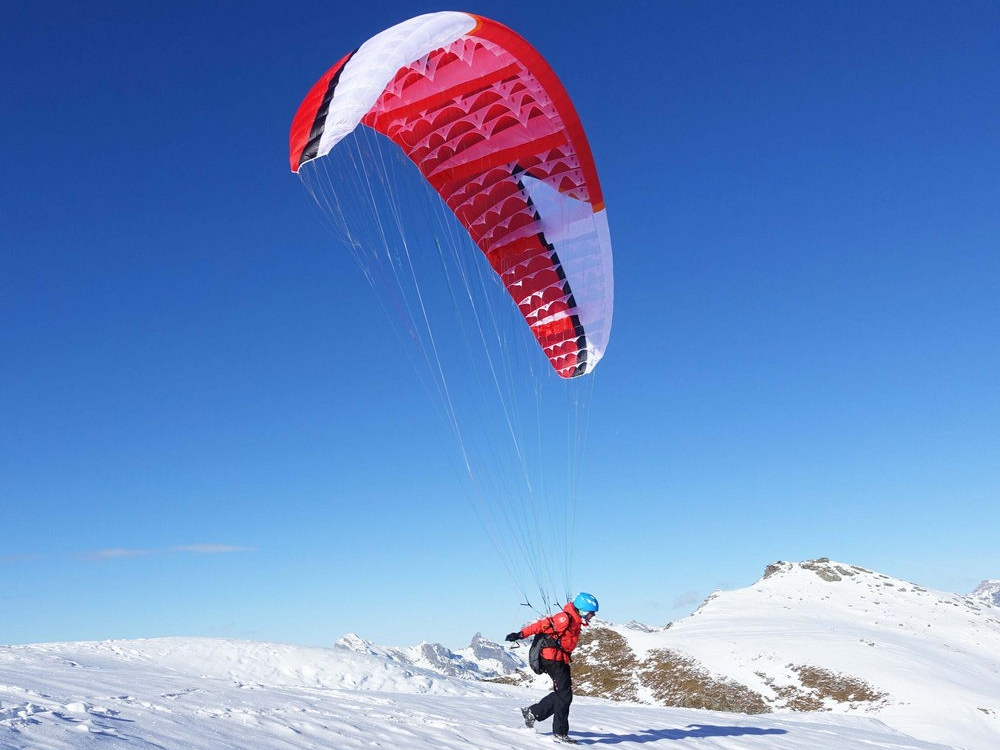 Niviuk Skin 2 is available here at flyspain paragliding center