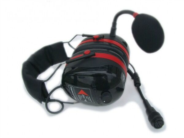 MicroAvionics MP001 - Stereo Paramotor Headset With Side Tone available from FlySpain international shop