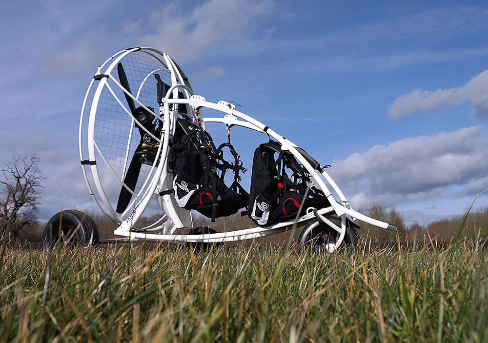 Parajet Falco trike available from FlySpain and shipped worldwide