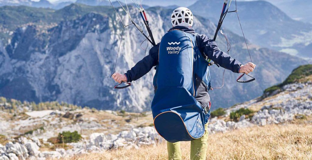 woody valley Wani light 2 paragliding harness