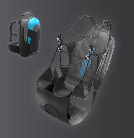 New Easiness 3 reversible lightweight harness