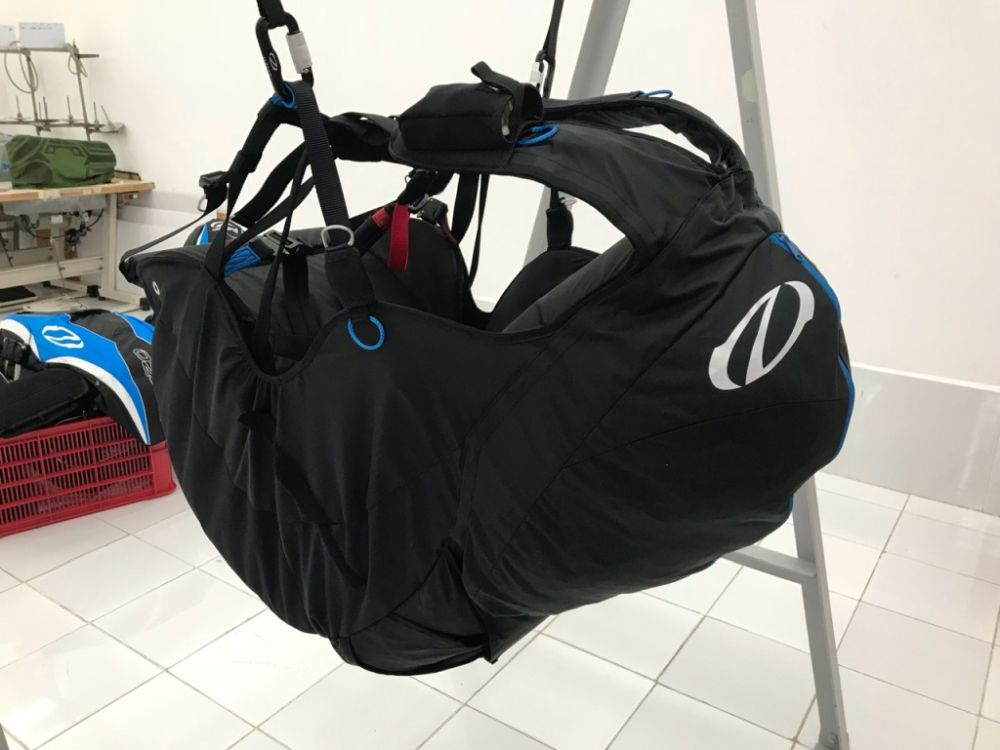 Ozone Oxygen 2 harness available at FlySpain Demo centre