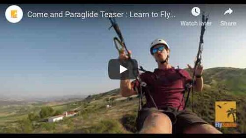 Come and Paraglide Teaser : Learn to Fly paragliders