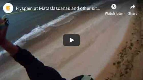 Flyspain at Mataslascanas and other sites used for training or cross country and beach holidays