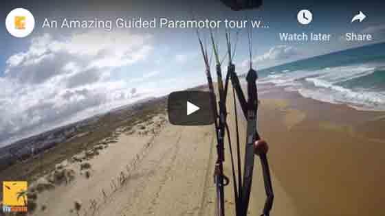 Guided Paramotor Tour