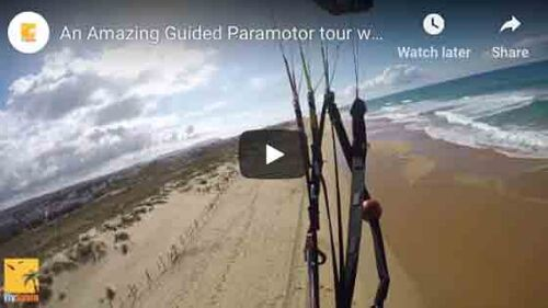 Guided Paramotor Tour