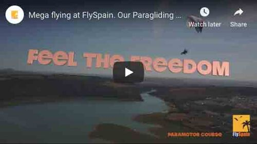 Mega flying at FlySpain. Our Paragliding Courses in a quick snaphot