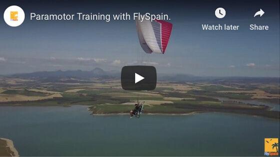 Paramotor Training with FlySpain