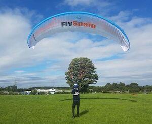Paragliding Reverse Launch tutorial