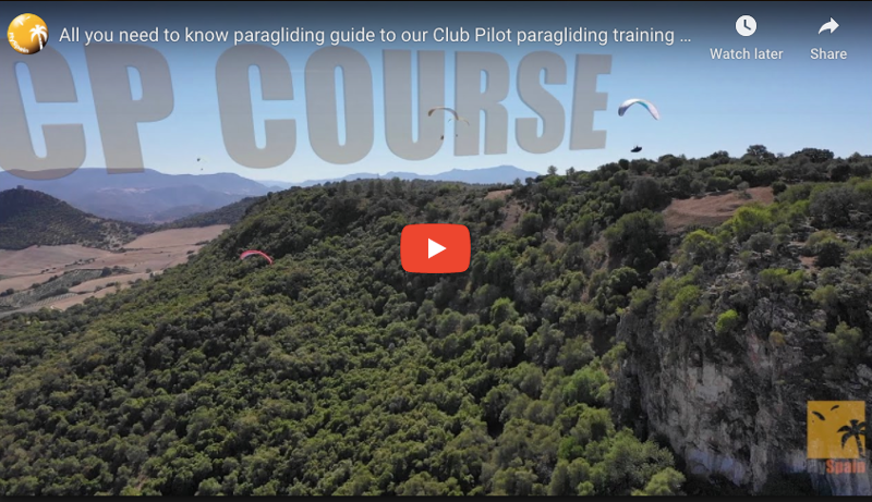 Club pilot paragliding training Explainer