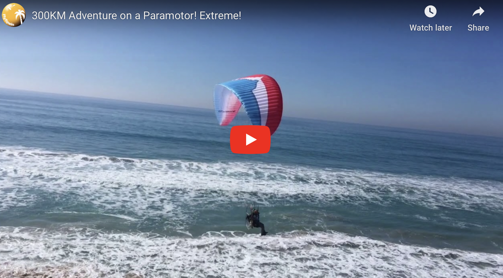 Stunning March Paramotor Holiday