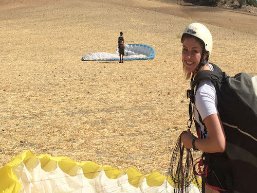 Paraglider Training