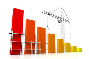 Construction crane related to accounts information